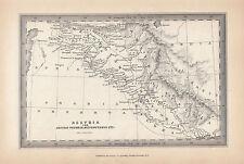 1847 ANCIENT MAP ~ ASSYRIA PROPRIA MESOPOTAMIA  BABYLONIA