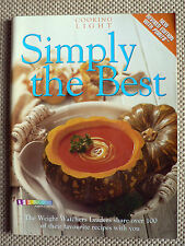 WEIGHT WATCHERS - SIMPLY THE BEST - COOKING LIGHT - NEW REVISED ED WITH POINTS