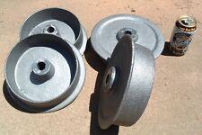 Cast iron ore cart wheel set 9 inch for large model mine car mining