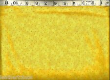 Quilting Treasures ~ Yellow Spotted Blender ~ 100% Cotton Quilt Fabric BTY