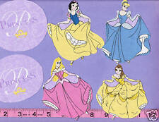 Disney Princesses Cinderella Snow White Fabric Iron Ons