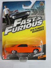 Hot Wheels 1:55 Fast & Furious - Plymouth Road Runner 1970 Brand new