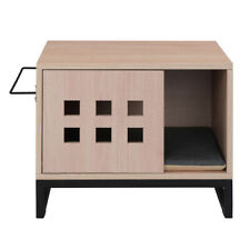 Cat Litter Enclosure Pets Litter Box Indoor Box House Side Table Nightstand