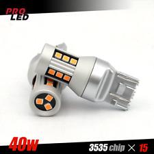 NEW DESIGN 7443 7440 Amber Yellow Front Turn Signal Blinker LED Lights Bulb