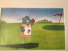 CARE BEARS ANIMATION PRODUCTION CEL