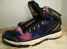 Adidas D Rose Boost 6 Purple Black Gold Size 5 Basketball Shoes Derrick Rose