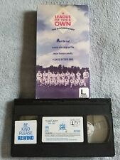 A League of Their Own: The Documentary (1987) - VHS Tape - Baseball / Sports
