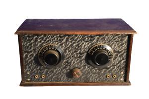 Röhrenradio Bakelit/holz Telefunken röhre RE084 D.R.P