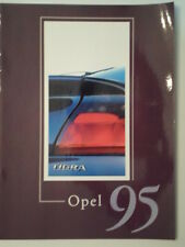 OPEL RANGE orig 1995 French Mkt Sale Brochure - Omega Calibra Vectra Tigra Corsa