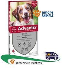 Advantix Bayer 4 pipette per cani da 10 fino a 25 kg Antiparassitario 10-25 kg
