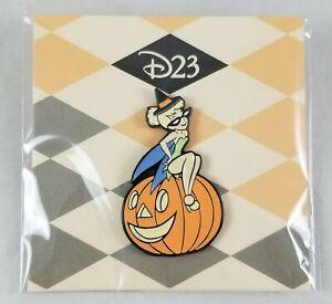 Disney D23 Tinker Bell Pumpkin Limited Edition 1750 Halloween GITD Glow Pin 2020