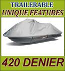 """Jet Ski PWC Cover Tigershark by Arctic Cat Montego Deluxe 1996 1997 new 121"""""""
