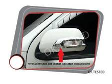 IMPORTED DOOR SIDE MIRROR INDICATOR CHROME COVER - TOYOTA FORTUNER TYPE -2