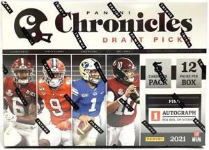 2021 Panini Chronicles Draft Picks Football Mega Box (Orange Parallels)