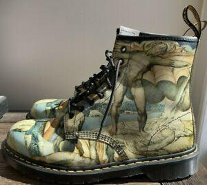 Dr Martens Tate Museum William Blake 1460 Boots Men's US 13 M, UK 12 EU 47 - NEW
