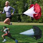 "New 56"" Speed Agility Training Resistance Parachute Running Chute Run Parachute"