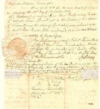 Virginia Revolutionary War Patriot Leven Powell Kentucky Estate Settlement 1811