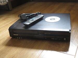 Panasonic DMR-EZ49V VCR & DVD Recorder Combi Unit, Copy VHS to DVD, DVB, Remote