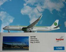 Herpa Wings 1:500 Airbus A321 Germania D-ASTE 527798