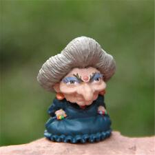 Studio Ghibli Spirited Away Yubaba Zeniba Figure Figurine Toy Home Garden Decor