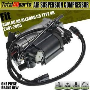 Fit for Audi A6 A6 Allroad C5 Type 4B 2001-2005 Air Suspension Compressor 2 Pins