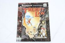 Rolemaster Talent Law #5523 ICE FRP RPG