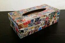 Sello Tapa caja de Pañuelos Decoradas