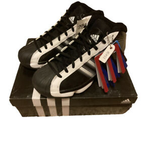 NIB Adidas Pro Model 2010 Women's Basketball Shoes Black White Size 6.0