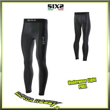 PANTALONE LEGGINS SIX2 BLACK CARBON UNDERWEAR LIGHT PNXL TAGLIA L