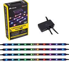 Corsair CL-9011109-WW Lighting Node Pro RGB Lighting Controller with 4 RGB LED