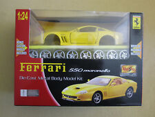 Maisto Assembly Line 124 Ferrari 550 Maranello (Yellow) #39939