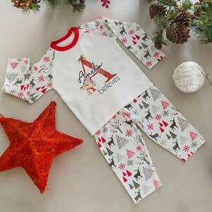 Personalised Christmas Pyjamas, PJs, Pajamas, First Christmas, Xmas Eve Outfit