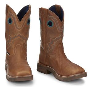 Tony Lama Women's Composite Toe EH Square Toe Pull-On Boot TW3420