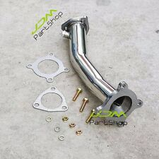"""for Audi A4 06-08 2.0L TFSI B7 2.5"""" Turbo Test Pipe Decat Catless Racing Exhaust"""