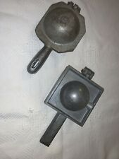 2 - Downrigger lead Molds.  6LB 8LB Cannon ball type.  Palmer MFG.