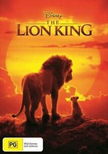 The Lion King (DVD, 2019), NEW SEALED AUSTRALIAN RELEASE REGION 4 LOT 21