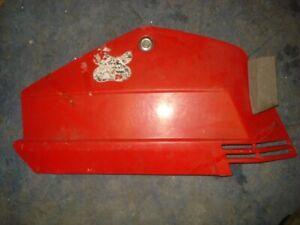 Honda Aero 50 Moped Red side dont Know exact model Panel NO CRACKS # 12