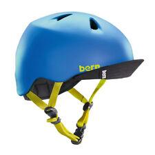 Bern Nino Estate Bambini Casco S-M Opaca Blu Bicicletta Skate Bicicletta Bambino