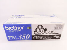 Brother TN350 2500 Pages Toner Cartridge - Black