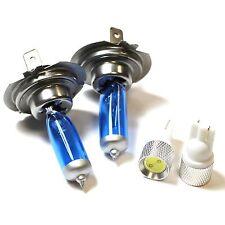 VW Polo 6R H7 55W 501 blu ghiaccio Xenon HID basso DIP / slux LED Side Light Bulbs Set
