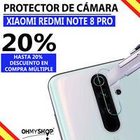 Protector Cámara Xiaomi Redmi Note 8 Pro Protector Cristal Templado Lente