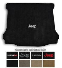 Jeep Cherokee Ultimats Carpet Cargo Floor Mat - Choose Color & Logo