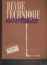 (C1)REVUE TECHNIQUE AUTOMOBILE OPEL OLYMPIA / BOITE WILSON T10 / Paul Vallée