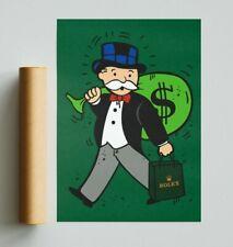More details for monopoly x rolex (poster print) alec monopoly inspired - pop art  - rolex art