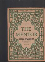 Mentor Magazine February 16 1914  #53 George Washington