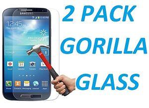 2x HD 9H HARD PREMIUM BALLISTIC TEMPERED GORILLA GLASS FOR SAMSUNG GALAXY S4
