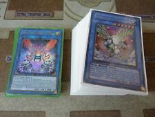 Yu-Gi-Oh! - Base de deck rituel Héraut Saffira 65 cartes + Sleeves