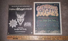"""INSANE CLOWN POSSE """"G.O.T.J. 2000 AND JECKEL BROTHERS RELEASE"""" NEWSPAPER AD'S"""