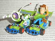 MICRO Scalextric - Pair of Toy Story Buzz and Woody Cars - Nr. Mint