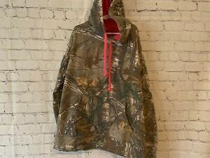 Realtree Girls Camouflage Hoodie Size Medium 8 10